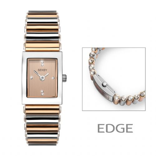 Seksy Edge 2867 | Ladies Watch | Rose Gold | By Sekonda